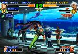 The King of Fighters 2000 Arcade Punch in belly in air
