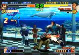 The King of Fighters 2000 Arcade Right in Maxima's balls