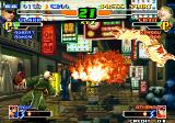 The King of Fighters 2000 Arcade Fire attack