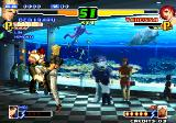The King of Fighters 2000 Arcade Vanessa has bad period in life