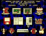 Premier Manager 2 Amiga Main menu