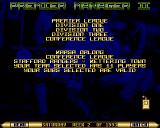 Premier Manager 2 Amiga Match overview