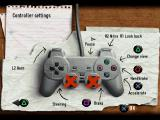Europe Racing PlayStation Controller settings