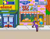 The Simpsons Arcade Game starts