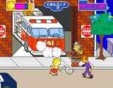 The Simpsons Arcade Jumping rope as whip