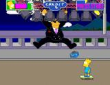 The Simpsons Arcade Boss appears