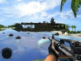 Far Cry Windows Nice weather, crystal clear water and a fully loaded assault rifle in my hand. What more could I ask for?