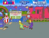 The Simpsons Arcade Crustyland