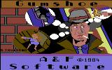 Gumshoe Commodore 64 Loading Screen.