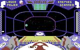 Star Trader Commodore 64 Flying through space.