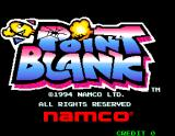 Point Blank Arcade Title Screen.