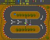 Wiraż Amiga Cup mode track 7 two laps to choose