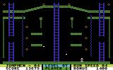 Jumpman Junior Commodore 64 Level 7 - Zig-Zag - The bullets go in a zig-zag pattern in this level.