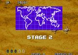 Aero Fighters 3 Arcade Stage 2.