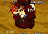 Aero Fighters 3 Arcade Another boss destroyed.