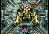 Alpha Mission II Arcade End of stage boss.