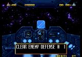 Alpha Mission II Arcade Clear enemy defence.