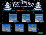 Foxy Jumper 2: Winter Adventures Windows Choose a level pack.