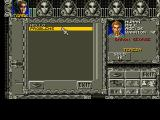 Ambermoon Amiga Dialogues with plot-related characters are displayed in such separate screens