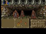 Ambermoon Amiga Attacked by evil mages in a mysterious building