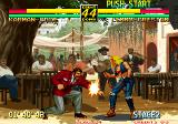 Art of Fighting 3: The Path of The Warrior Arcade Another hit.