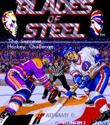 Blades of Steel Arcade Title Screen.