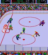 Blades of Steel Arcade Pass it.