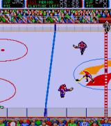 Blades of Steel Arcade On the attack.
