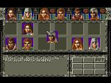 Ambermoon Amiga Re-arranging your party for battle formation