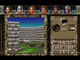 Ambermoon Amiga The ruins of Gemstone - once a proud city, now just a collection of stones and bones...