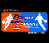 Double Dribble Arcade Title Screen.