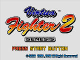 Virtua Fighter 2 Windows Title screen
