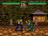 Virtua Fighter 2 Windows Start of a battle