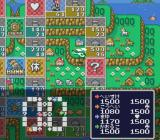 Itadaki Street 2: Neon Sign wa Bara-iro ni SNES Helicopter moving the player.