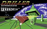 Space Station Oblivion Commodore 64 Loading screen (tape version)