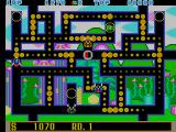Fantasy Zone: The Maze Arcade Eat the dots.