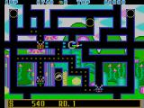 Fantasy Zone: The Maze Arcade Using your laser.