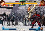 The King of Fighters 2001 Arcade High kick
