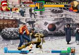 The King of Fighters 2001 Arcade Kick in knee