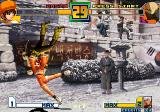 The King of Fighters 2001 Arcade Bao - Small but strong