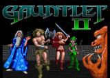 Gauntlet II Arcade Title Screen.