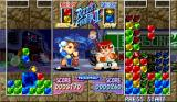 Super Puzzle Fighter II Turbo Arcade Many useless block
