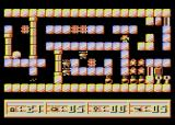 3d24 Atari 8-bit Hostile robots in sight and bomb blowing up