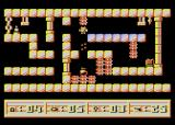 3d24 Atari 8-bit Shooting a bomb, and falling spike on the right