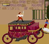 Cutthroat Island Game Gear Ride along on top of a carrage