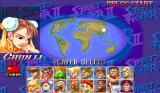 Hyper Street Fighter II: The Anniversary Edition Arcade Player Select.