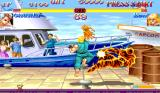 Hyper Street Fighter II: The Anniversary Edition Arcade Burst into flames.