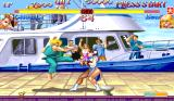 Hyper Street Fighter II: The Anniversary Edition Arcade Another kick connected.