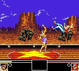Fatal Fury Special Game Gear uppercut