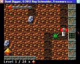 Dust Digger Amiga Killed by a spider